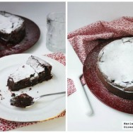 Pastel de mousse de chocolate
