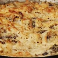 Pasta con champiñones
