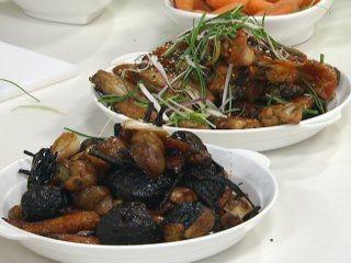 Betabeles y verduras al horno