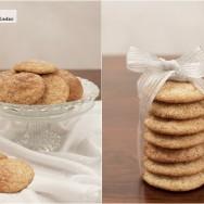 Snickerdoodles o galletas de azúcar y canela