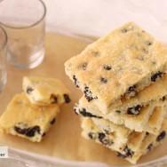 Receta de Garibaldi biscuits