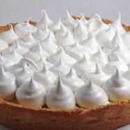 Lemon pie, casero