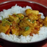 Puerco al curry