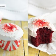 Cómo hacer Red Velvet Cupcakes