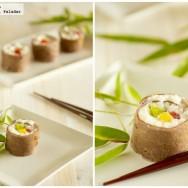 Sushi dulce.